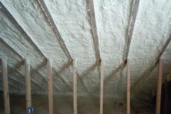 Closed Cell Spray Foam Attic Slopes/Hot Roof