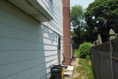 Siding White Clapboard-Alside